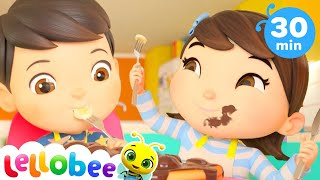 1,2 What Shall We Do? | +More Nursery Rhymes & Kids Songs | ABCs and 123s | Little Baby Bum