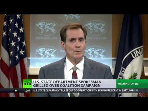 US State Dept spox almost cracks over ISIS and Syria regime change charges