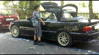 BMW E36 320i cabrio/convertible close Soft Top
