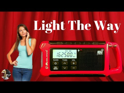 Midland ER200 AM FM WX Emergency Portable Radio Review