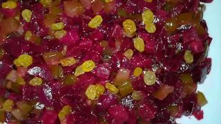 САЛАТ ИЗ СВЕКЛЫ - ПРОСТО ПАЛЬЧИКИ ОБЛИЖЕШЬ!!!🌶Beet Salad Recipe