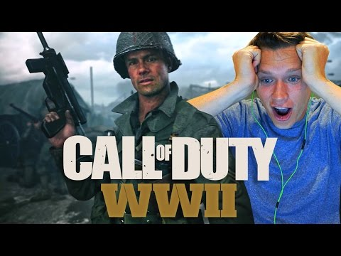 Thumbnail: Official Call of Duty®: WWII Reveal Trailer - REACTION VIDEO