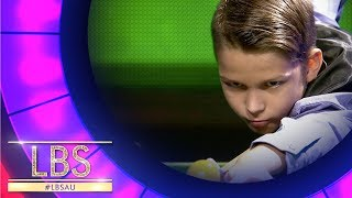 Amazing Snooker Trick Shot Artist | Little Big Shots Australia