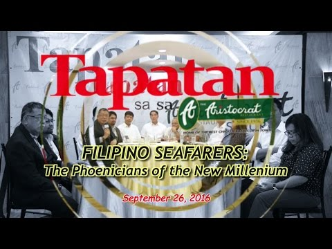 Filipino Seafarers: The Phoenicians of the New Millenium