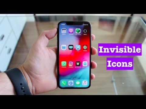 How To Create Invisible Apps On IPhone/iPad Home Screen