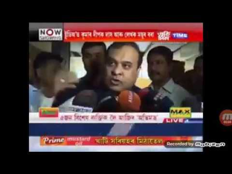 HIMANTA BISWA SARMA- Hindu bangladeshi will save Assamese people
