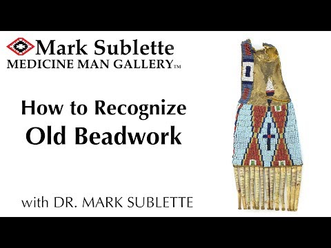 How To Recognize Old Native American Beadwork From Fake Indian Beadwork