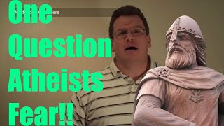 The 1 Question All Atheists Fear! (Response) - Atheist answering a Christian question - HD 1080p