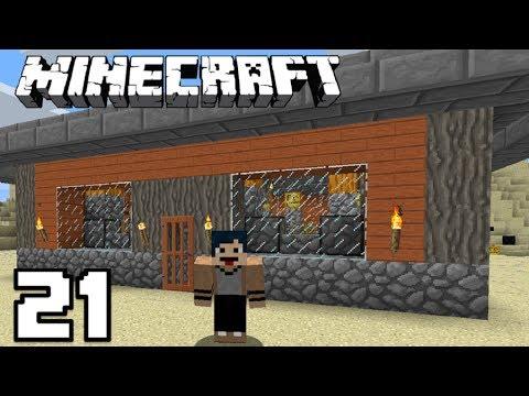 SKIN BARU & FARM PUMPKIN OTOMATIS! Minecraft Survival Indonesia #21