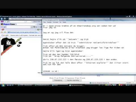 TDC - Fjern Spærring af thepiratebay.org Jhox.tk JhovedJHOX (DK)