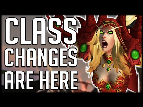 SHADOWLANDS CLASS CHANGES New Information From ALPHA | WoW BfA