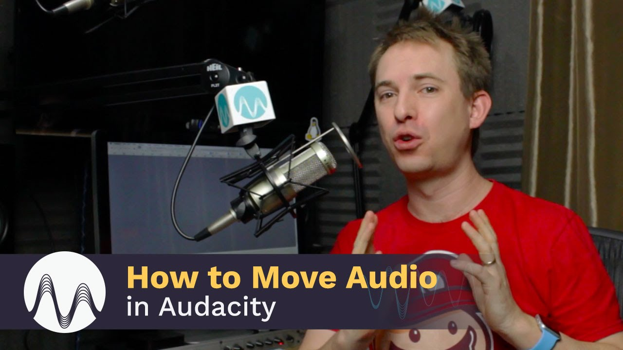 How to Move Audio Tracks in Audacity