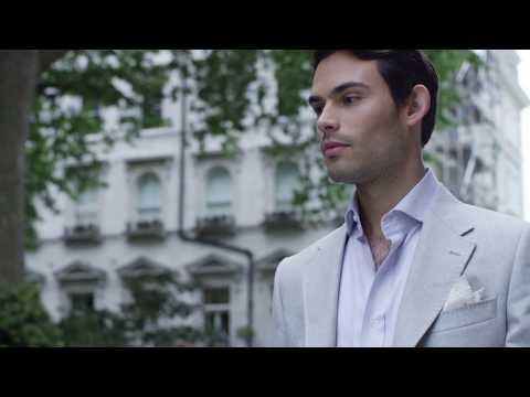 Mark Francis for Hawes & Curtis- Summer Collection