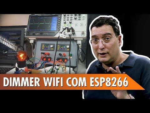 Dimmer WiFi com ESP8266!