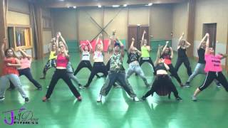 Jay Dance Fitness : Hey Mama @David Guetta Feat Nicki Minaj (choregraphy by Jérôme Lemesle)