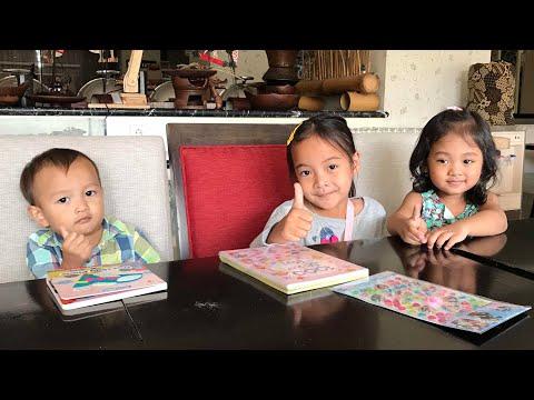 Zara review Buku 1000 sticker Peri hadiah dari Penonton Zara Cute Semarang 😍