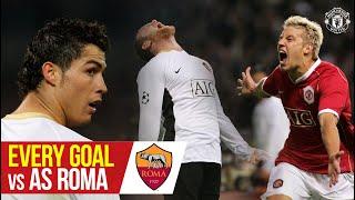 Every Goal vs AS Roma   Manchester United v AS Roma   UEFA Europa League Semi-Finals