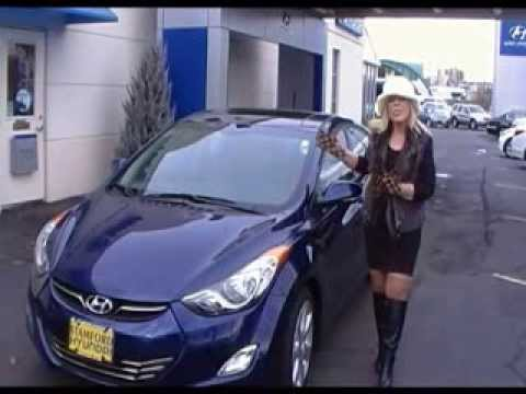 2013 Elantra Limited Video Test Drive In Stamford, CT Near Danbury White  Plains New Rochelle. Stamford Hyundai