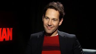 Ant-man Cast Talk Sequels, Shrinking, & The Ant-man Suit