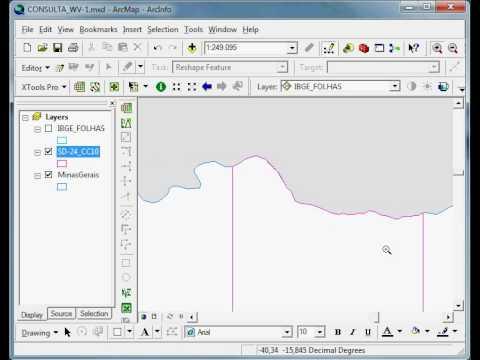 ArcGIS: Edição com a Ferramenta Streaming – Processamento
