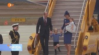 Prinz William und Kate in Kanada mit den Kindern!