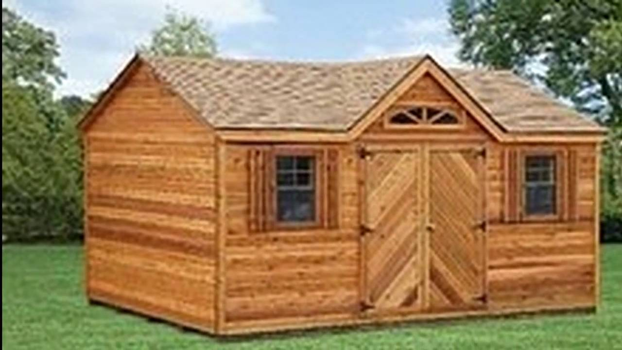 Amish Prefab Wood Storage Shed : Amish garden storage sheds pa prefab wooden structures