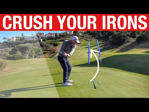 HIT YOUR IRONS LONGER AND BETTER! SIMPLE GOLF DRILL!