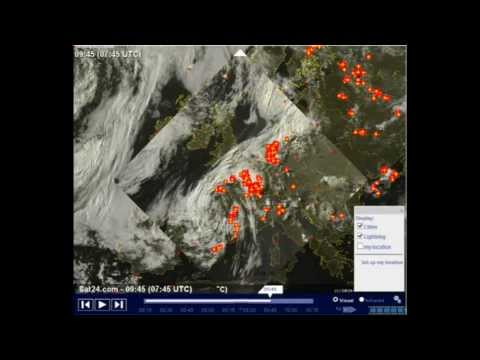 HAARP made Weather ??? 20.06.2013 in Berlin and Germany