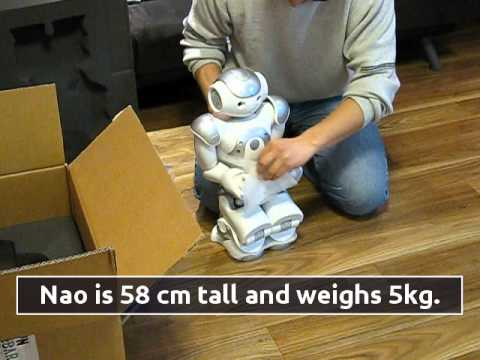Nao Robot Unboxing - Aldebaran Developer Program - YouTube