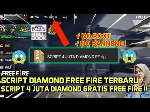 Terbaru Script Diamond Free Fire 4 Juta Diamond Gratis Youtube