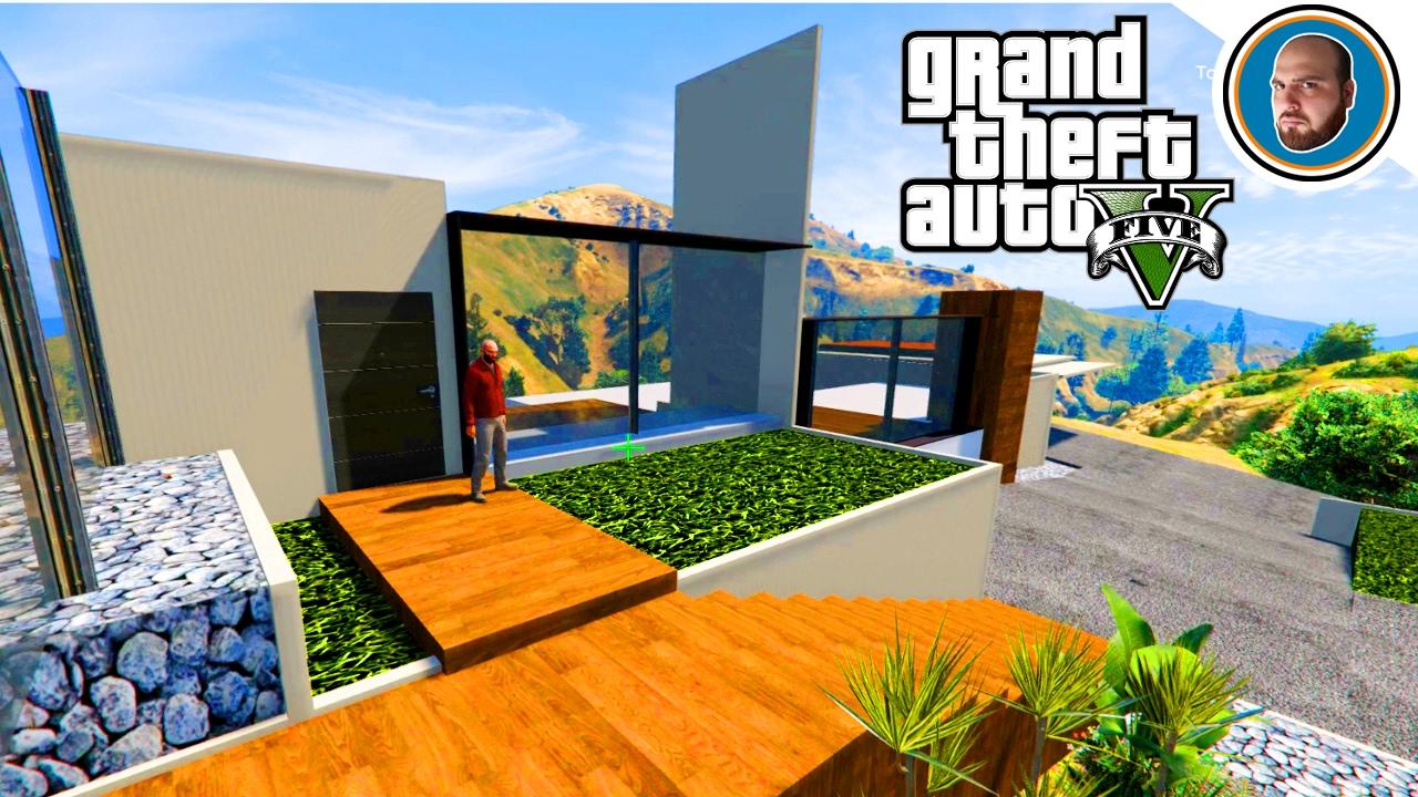 Gta 5 mod costruire una villa moderna 2 creare garage e for Costruire una villa