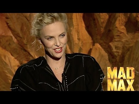 Charlize Theron Hot INTERVIEW New Mad Max: Fury Road Cast Interview Furiosa CARJAM TV HD 2015