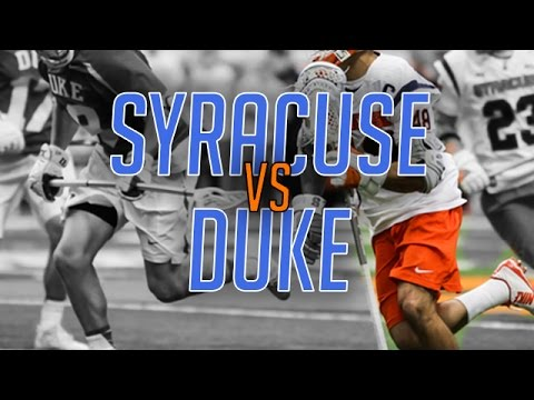 Syracuse vs Duke - College Highlights 2017