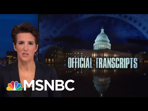 Republicans Slow To Staff Key Committee, Slowing Robert Mueller Help | Rachel Maddow | MSNBC