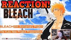 BLEACH FINAL ARC Anime Rückkehr 2021 LIVE REACTION [Deutsch/German]