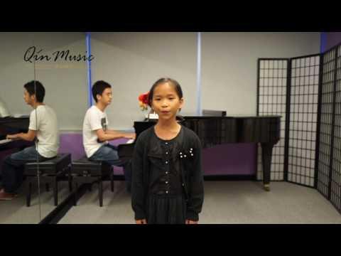 ABRSM Distinction Student Demo  Grade 1 Singing: Cuckoo
