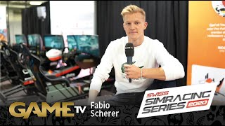 Game TV Schweiz - Fabio Scherer | Rennfahrer Sauber Junior | SWISS SIMRACING SERIES 2020