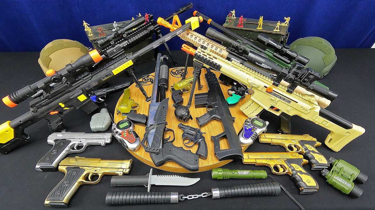 Here Is My Most Exclusive Sniper Rifle Collection! The Most Realistic Large Rifles And Desert Eagle