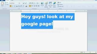 My Google page! Thumbnail