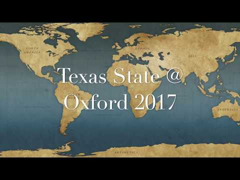 Texas State University at Oxford 2017