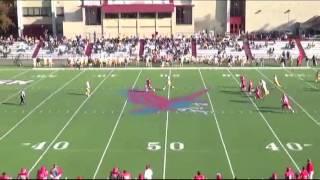 Montclair State Football Highlights vs. Rowan - October 25, 2014