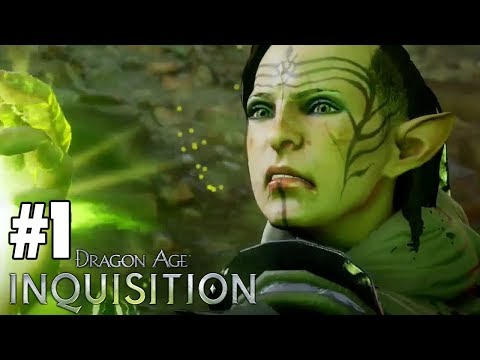 TIME TO SAVE THE WORLD! - Let's Play: Dragon Age: Inquisition PS4 Gameplay Part 1-6 [Solas' Romance]
