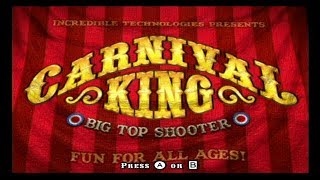 Carnival King Wii Playthrough - A Pretty Good Shooting Gallery Game