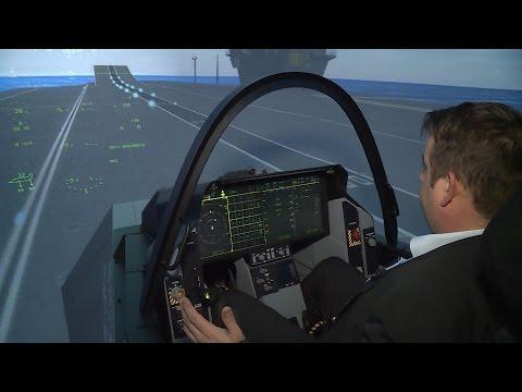Inside The Simulator Prepping F 35 Lightning II Pilots
