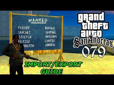 GTA San Andreas #079 🔫 Deutsch 100% 🚢 Import/Export-Schiff (Guide) ∞ Let's Play Gameplay German