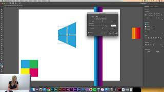 Adobe Illustrator CC Dersleri | #25 | Envelope Distort | Rotate tool & Scale tool kullanımı