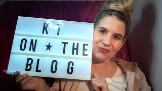 KT on The Blog - New Blogger in the house!