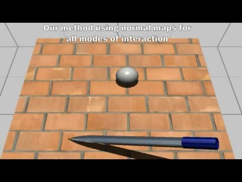 Integrated Multimodal Interaction Using Texture Representations