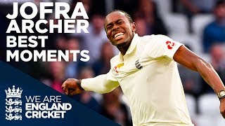 Jofra Archer | Best Summer Moments! | England Cricket 2019