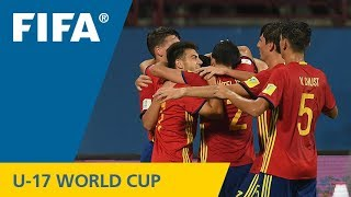 Video Match 32: Spain v Korea DPR – FIFA U-17 World Cup India 2017 download MP3, 3GP, MP4, WEBM, AVI, FLV Oktober 2017